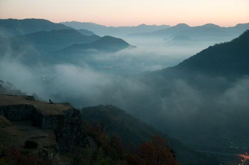 竹田城と雲海