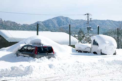 京丹後は大雪